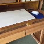 子供の机をPCデスクに改造!その2 パソコン台の作り方