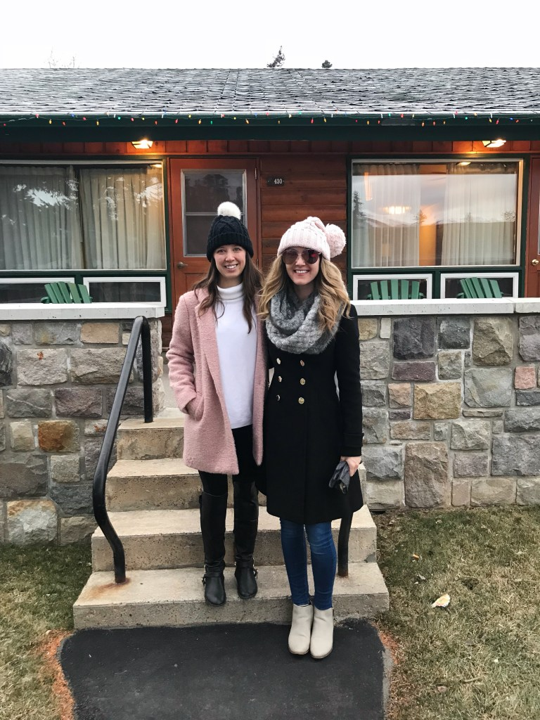 Our log cabin residence while attending Christmas in November at the Fairmont Jasper Park Lodge