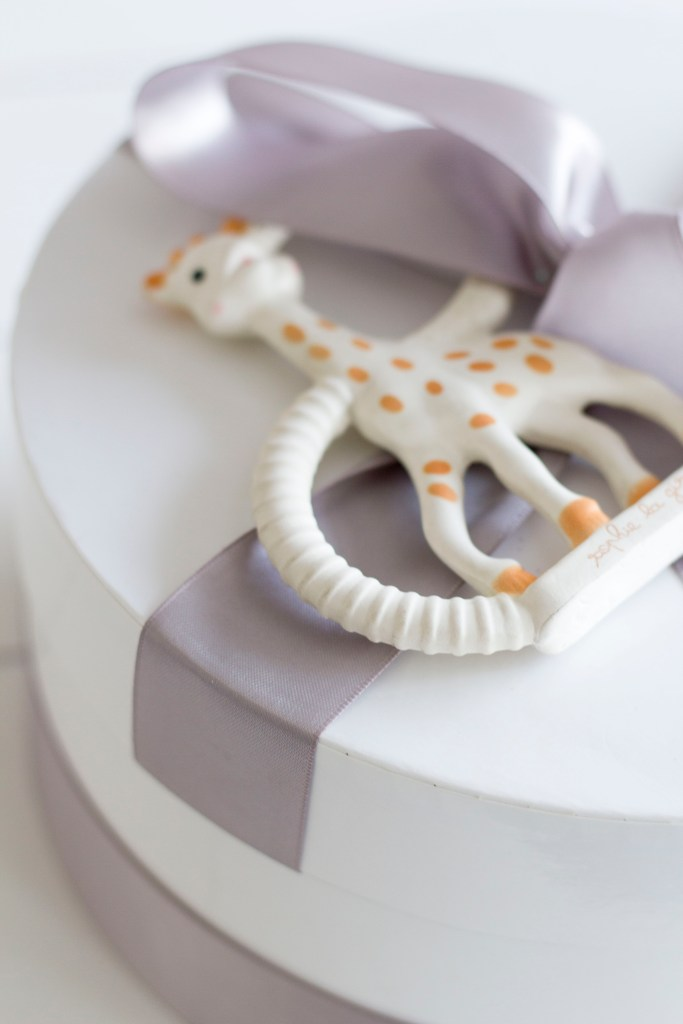 Sophie the Giraffe - 10 Favourite Baby Items - Baby shower gift ideas - Baby Christmas gift ideas - Best baby items on Chandeliers and Champagne