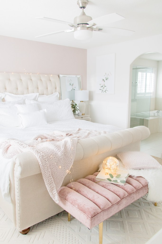 Luxurious Master Bedroom Refresh Chandeliers And Champagne