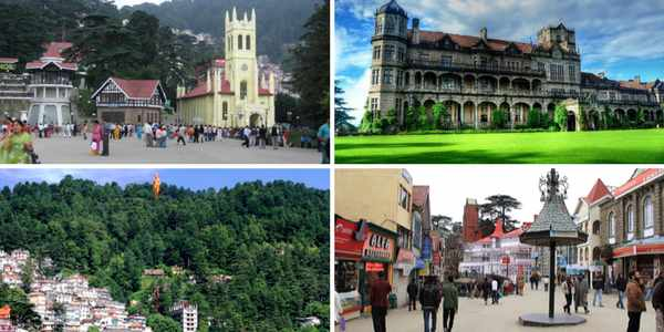 shimla-places to visit
