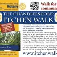 The Chandler's Ford Itchen Walk: Sunday 10th June 2018
