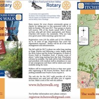 The Chandler's Ford Itchen Walk: Sunday 11th June 2017
