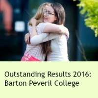 Outstanding A Level and Vocational Results at Barton Peveril - 2016