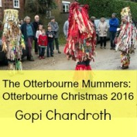 Otterbourne Mummers: Traditional Mummers Play in Otterbourne, Christmas 2016