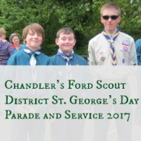 Chandler's Ford Scout District St. George's Day Parade and Service 2017