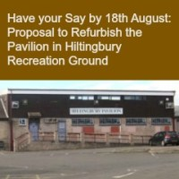 Have your Say by 18th August: Proposal to Refurbish the Pavilion in Hiltingbury Recreation Ground