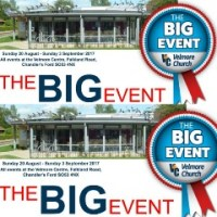 Velmore Centre: The Big Event - 20th August to 3 September 2017