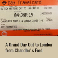 A Grand Day Out to London from Chandler's Ford