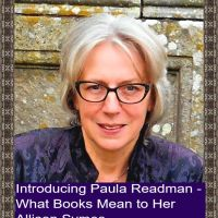 Introducing Paula Readman: What Books Mean to Her