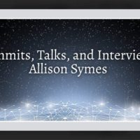 Local Author News - Allison Symes - Summits, Talks, and Interviews