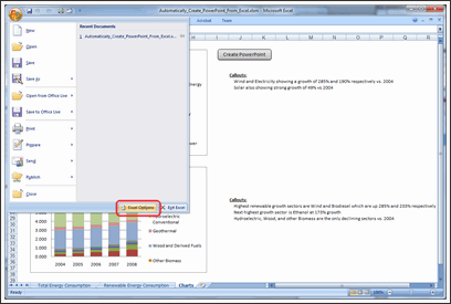 Excel to PowerPoint using VBA - Step 3a