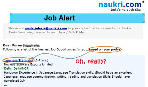 naukri-job-recommendations
