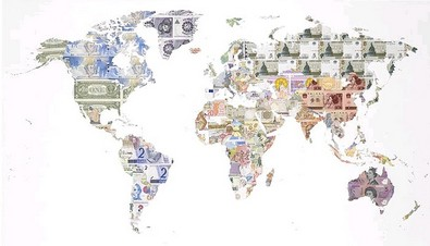 World Map of Money