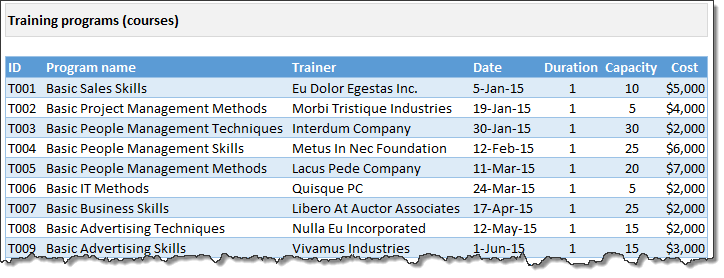 training-tracker-data-courses