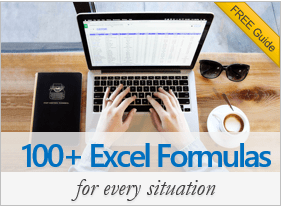 Excel formula list - 100+ formulas and examples for any situation