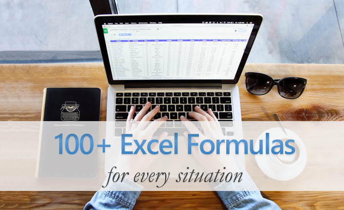 Excel Formula How-to and examples - Free Guide