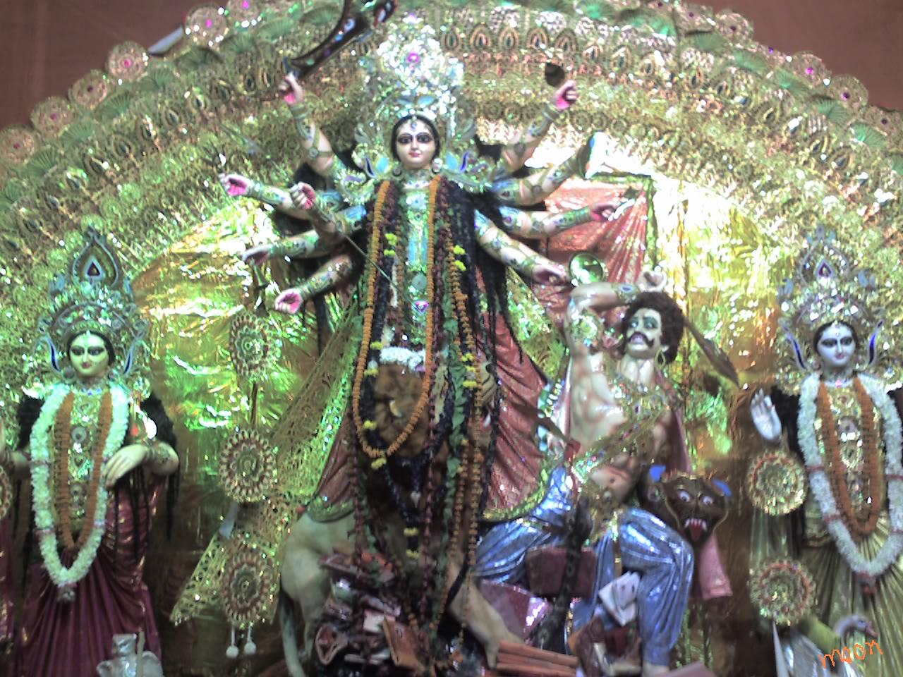 Durga Puja 2009 :  Photo by Moon Roy