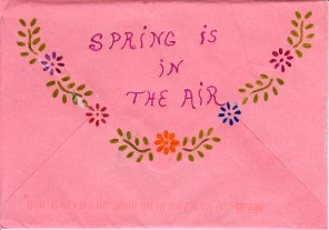 """Spring Is in the Air"" (back), by Dee"