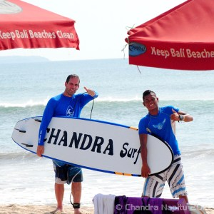 Private surf lesson Bali with friendly instructor