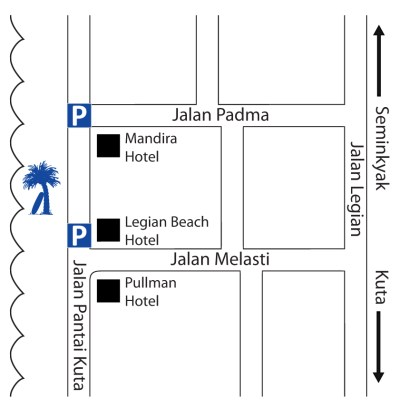 Map for Chandra's Sunbeds and Surfing
