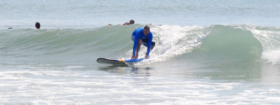 Surf board rental in Legian, Bali