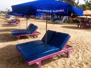 Chandra's sunbeds Bali