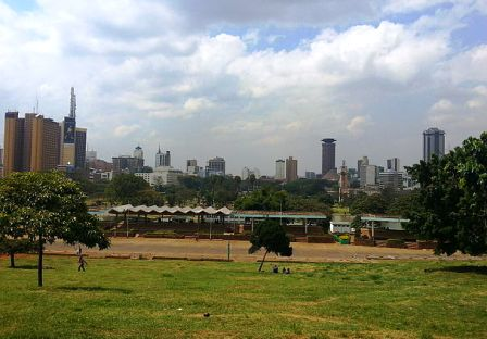 Image of Nairobi Skyline