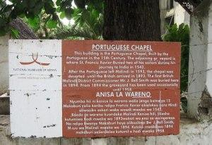 Image of Portuguese Chapel in Malindi