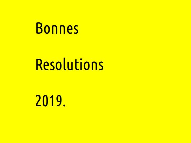 Arrivez-vous à tenir vos bonnes résolutions de début d'année ?