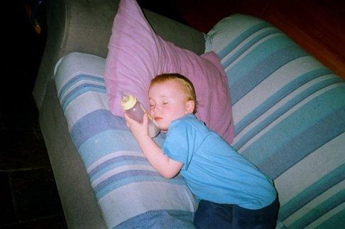 Sleeping Sparky