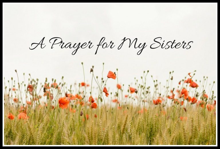 A Prayer for My Sisters - A Guest Post by D.D.