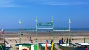 Joie de vivre, plage du Touquet