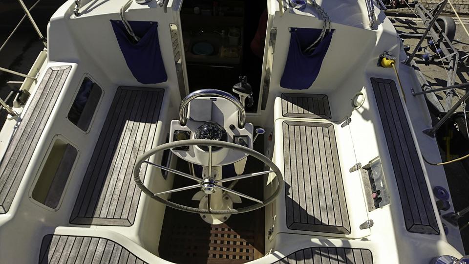 Southerly 115 Cockpit