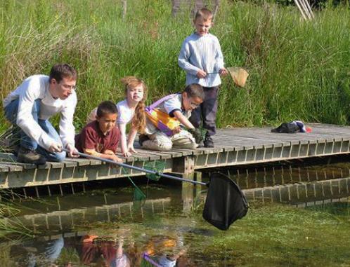 Education nature au Houtland (Flandre)