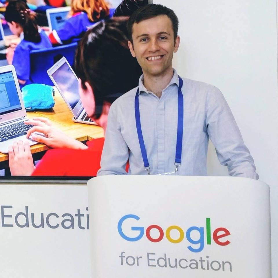 Bogdan, Google for Education Certified Trainer