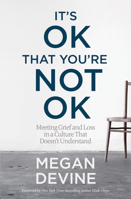 Book cover of It's OK that you're not OK