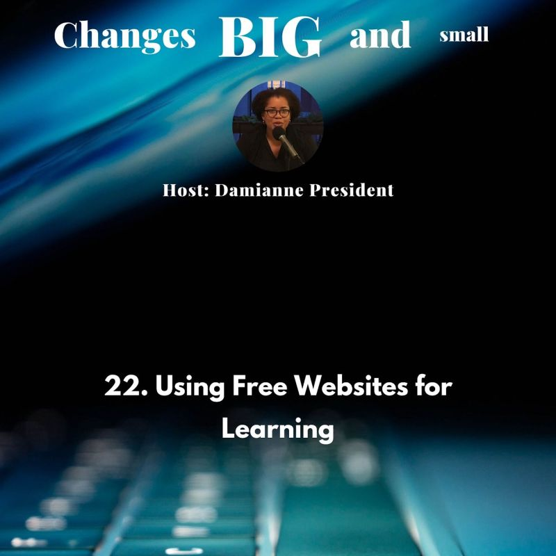 cover art for episode 22 on Using Free Websites for Learning