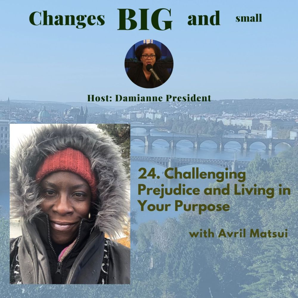 Cover image for episode 24 of Changes BIG and small with Avril Matsui