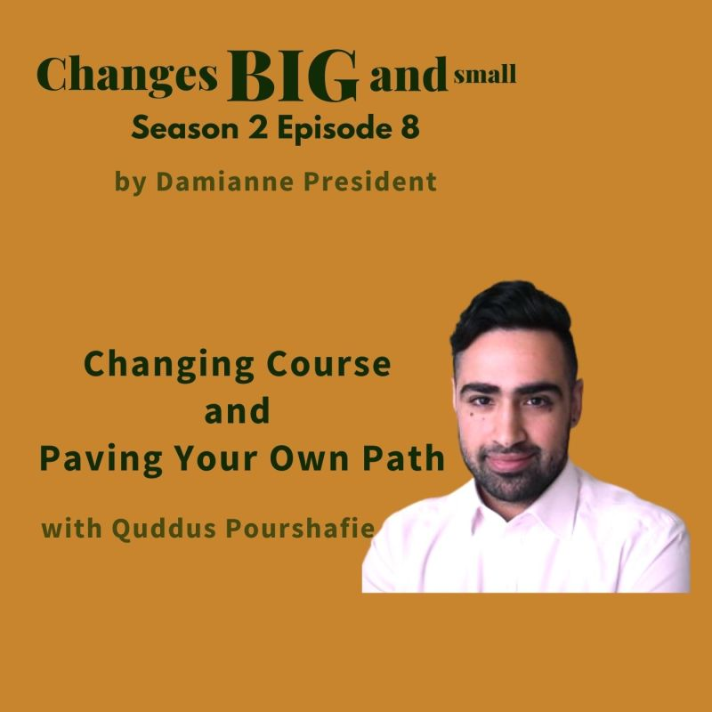episode 51 cover art with Quddus Pourshafie on legal innovation