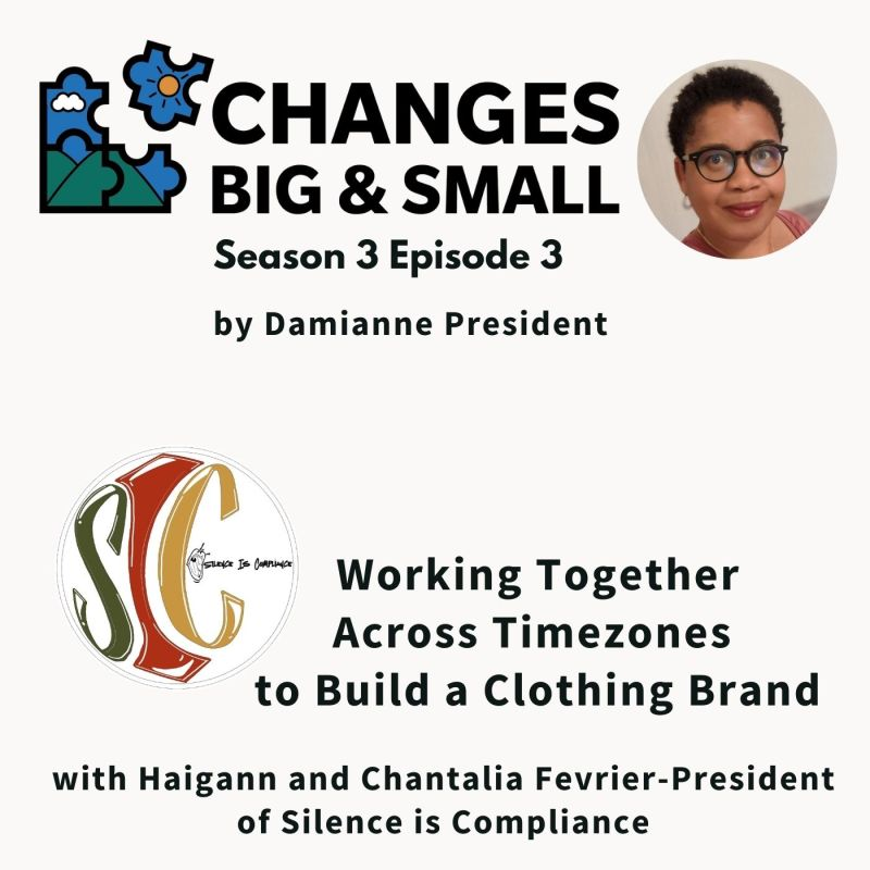 cover art of episode 64 of Changes Big and Small with Silence is Compliance