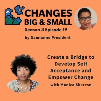 cover art for episode 81 with Monica Sherese on using bridge thoughts on CBaS podcast