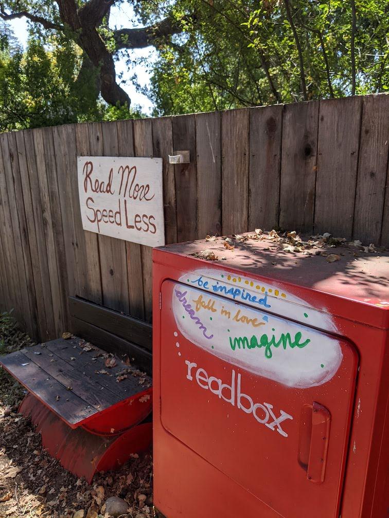 Readbox in santa rosa