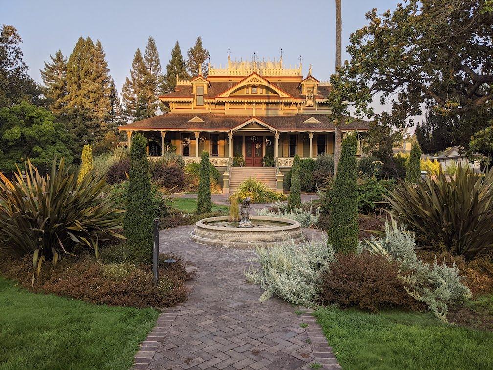 mansion in McDonald historical area Santa Rosa