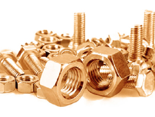 Various Copper Nuts And Bolts