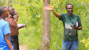 Remmy (right) is an environmental pioneer inTanzania