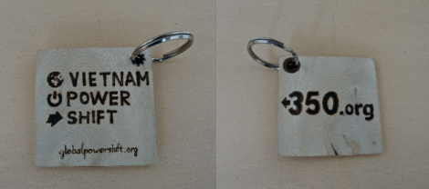 Wooden Key Chain. 24,000 VND