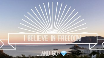 Permalink to: I Believe in Freedom
