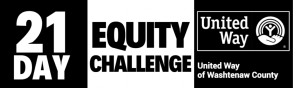 United Way of Washtenaw County 21 Day Equity Challenge logo