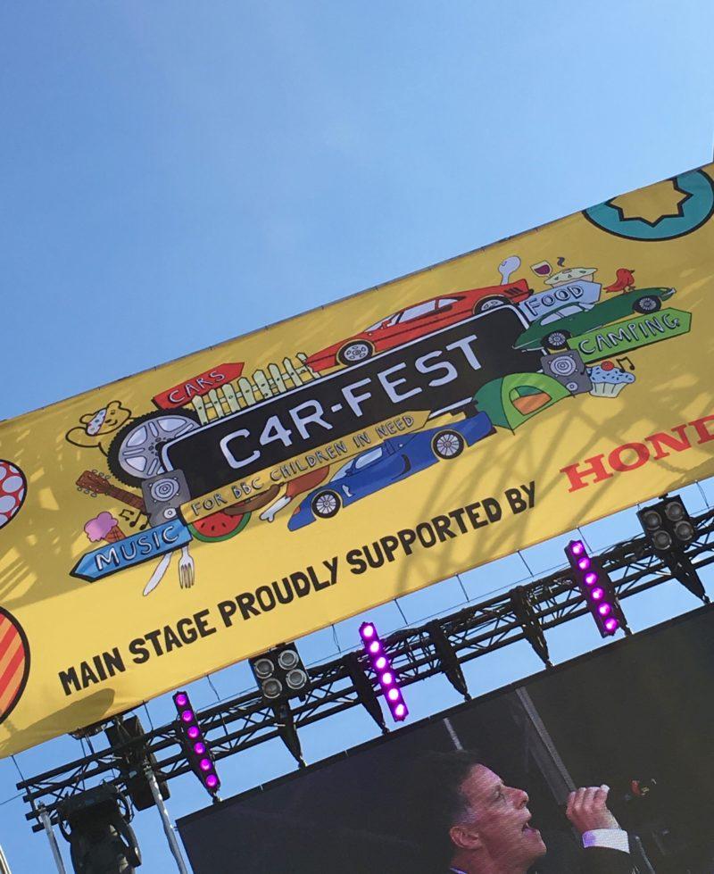 carfest 2017 music booth